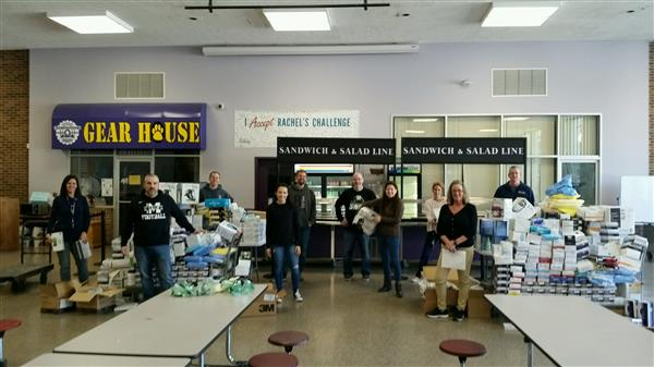 Monty Tech Donates Much Needed Supplies to Area Hospitals