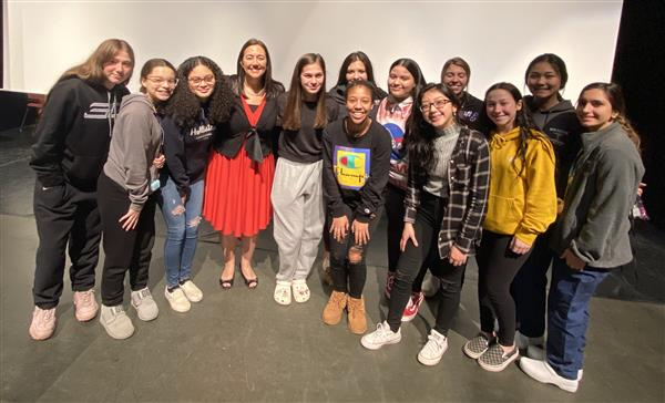 Erin Gruwell of 'Freedom Writers' fame shares motivational message with Monty Tech students