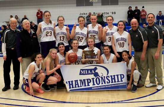 Monty Tech Girls' Basketball Wins Division Championship